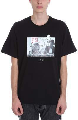 Throw Back Jay Z Black Cotton T-shirt
