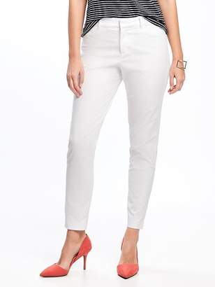 Old Navy Mid-Rise Clean-Slate Pixie Chinos for Women