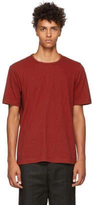 Ziggy Chen Red Back Band T-Shirt