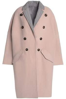 Brunello Cucinelli Reversible Button-Embellished Cashmere Coat