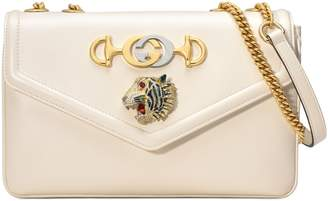 Gucci Medium Rajah Leather Shoulder Bag