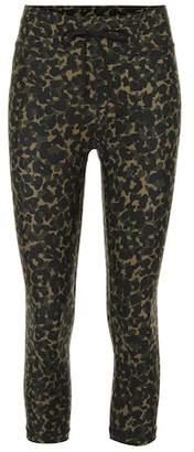 The Upside Leopard Camo printed leggings