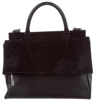 Hayward Leather & Suede Satchel