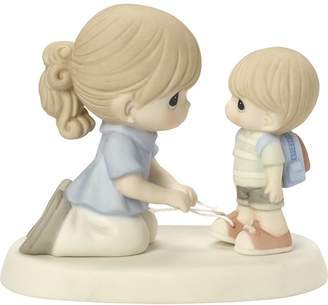 Precious Moments Precious Moments, Love Ties Us Together, Bisque Porcelain Figurine, 164004