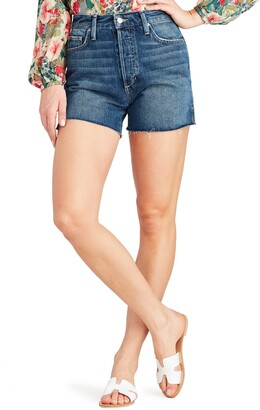 Joe's Jeans Smith High Waist Split Hem Shorts