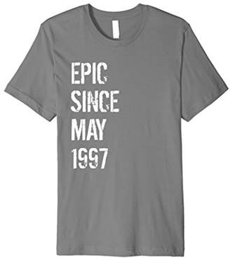 21 Year Old Gift T Shirt for Men & Women Born May 1997