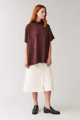Cos HIGH-NECK MERINO-CASHMERE TOP
