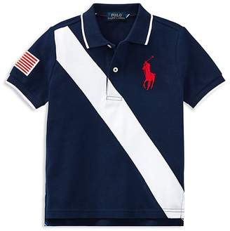 Polo Ralph Lauren Boys' Banner Polo - Little Kid