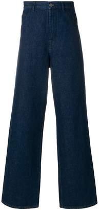 Raf Simons wide leg jeans
