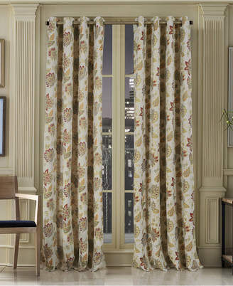 "J Queen New York Vancouver Blackout 50"" x 84"" Grommet Curtain Panel"