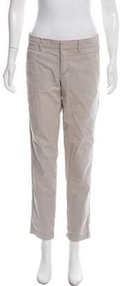 Vince Mid-Rise Khaki Pants