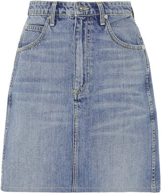 Eve Denim Tallulah HIgh-Rise Denim Mini Skirt
