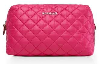 MZ Wallace Mica Quilted Nylon Cosmetics Case