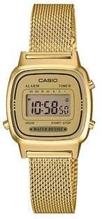 Casio Ladies Standard Digi Gold Watch