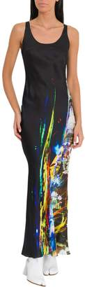 Maison Margiela Long Dress With Graphic Print