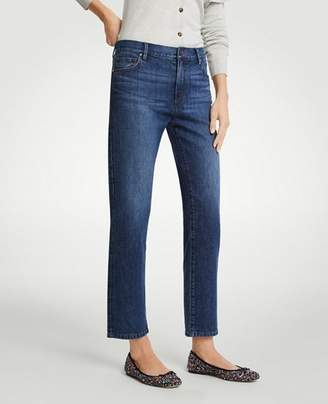 Ann Taylor Straight Crop Jeans