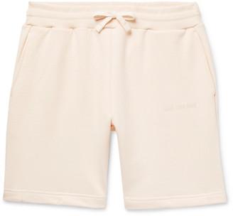 Leon Aimé Dore Logo-Embroidered Loopback Cotton-Jersey Drawstring Shorts