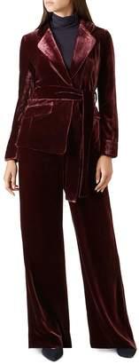 Hobbs London Lorrie Velvet Jacket - 100% Exclusive