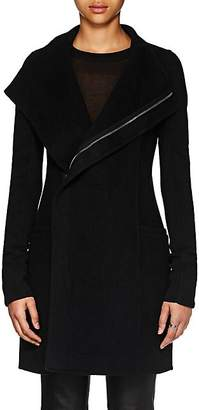 Rick Owens Women's Eileen Double-Faced Cashmere Coat - Black