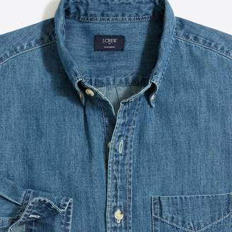 J.Crew Factory Lightweight denim workshirt
