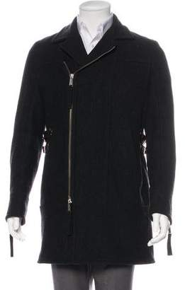 DSQUARED2 2004 Wool Belt-Accented Coat
