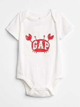 Gap Logo Crab Bodysuit