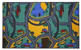 Camilla And Marc ASSOCIATED WEAVERS Playtime Traffic Playtime Carpet 100 x 165 cm