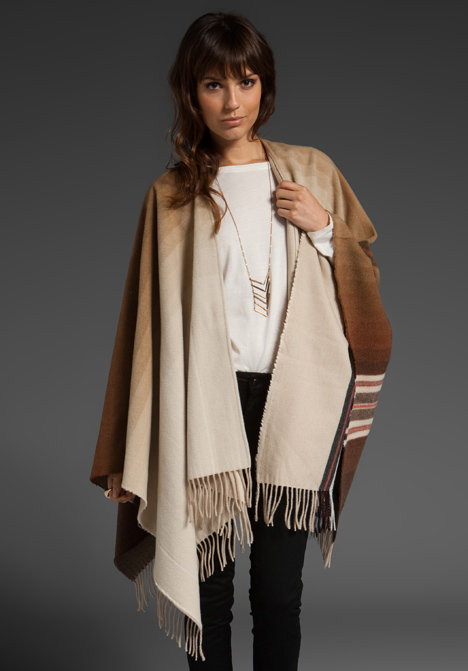 Closed Lauren Poncho