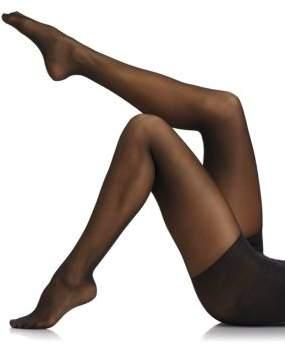 Donna Karan High-Waisted Satin Sheer Control Hose