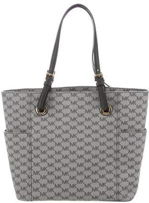 cbf155a564cd MICHAEL Michael Kors Gray Open Top Handbags - ShopStyle