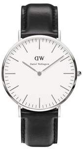 Daniel Wellington Classic Sheffield Silver Watch