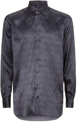 Zilli Silk Polka Dot Shirt