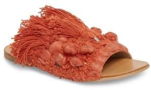 Free People Mars at Night Tasseled Slide Sandal