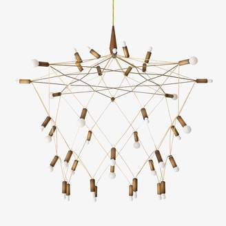 Patrick Townsend Orbit Chandelier Bronze
