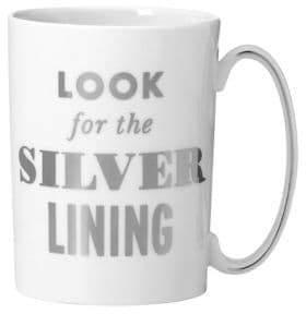 Kate Spade Simply Spark Silver Lining Mug