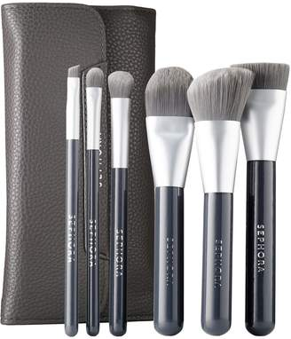 Sephora Collection COLLECTION - Deluxe Charcoal Antibacterial Brush Set