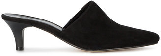 Black Andrea Pointed Mules