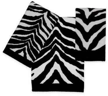 Creative BathTM Zebra Bath Towel