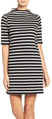 French Connection Stripe Terry Shift Dress $118 thestylecure.com