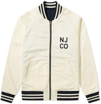 Nudie Jeans Mark Reversible Varsity Jacket