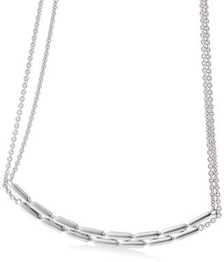 Breuning Sterling Silver Layered Necklace