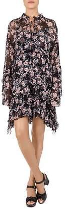The Kooples Powder Poppy Dress