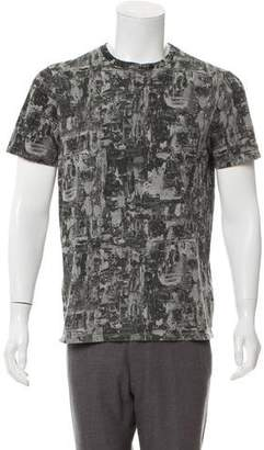Christian Dior Printed Crew Neck T-Shirt
