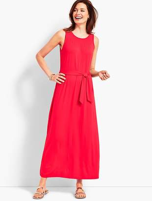 Talbots Belted Maxi Dress