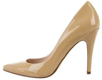 Barneys New York Barney's New York Patent Leather Pointed-Toe Pumps