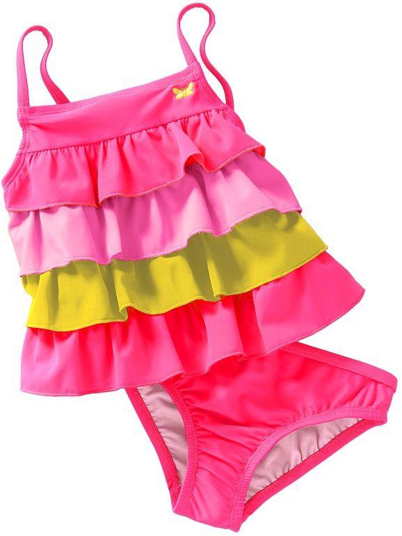 Carter's ruffle 2-pc. tankini swimsuit set - baby