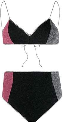 Oseree Lumiere high-rise bikini set