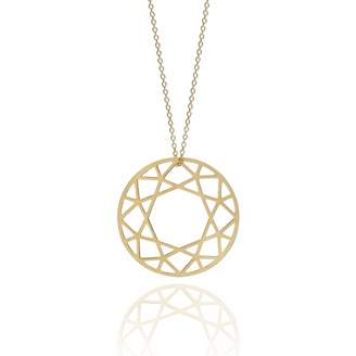 Myia Bonner Gold Large Brilliant Diamond Necklace