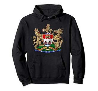 Dot7Art: Vintage Coat of Arms of Hong Kong Hoodie