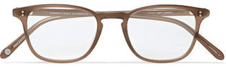 Garrett Leight California Optical Boon 48 D-frame Matte-acetate Optical Glasses